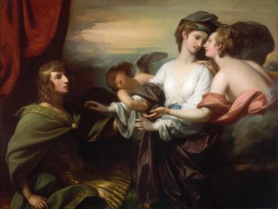 Helen Brought to Paris, 1776 by Benjamin West