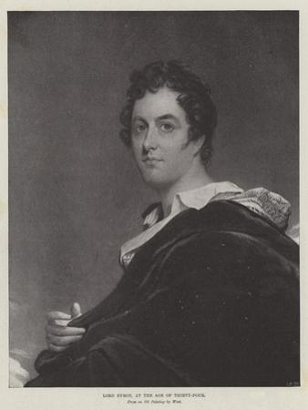 Lord Byron, at the Age of Thirty-Four by Benjamin West