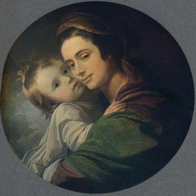 Mrs. West and Child, 1770 by Benjamin West