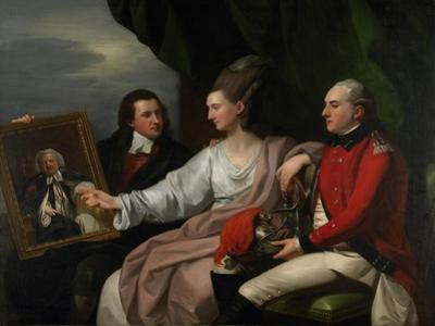 Portrait Group of the Drummond Family by Benjamin West