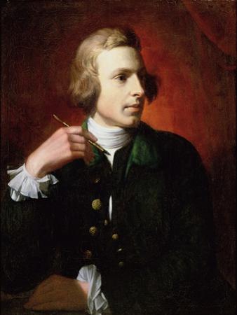 Portrait of Charles Wilson Peale (1741-1827), 1767-9 by Benjamin West