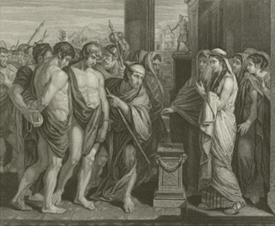 Pylades and Orestes by Benjamin West