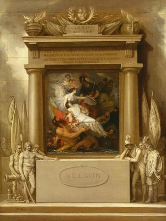 The Apotheosis of Nelson, 1807 by Benjamin West