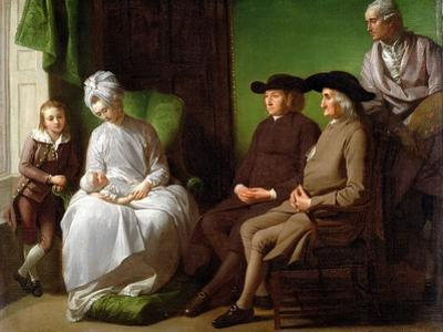 The Artist's Family by Benjamin West