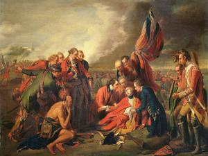 The Death of General Wolfe (1727-59), C.1771 by Benjamin West
