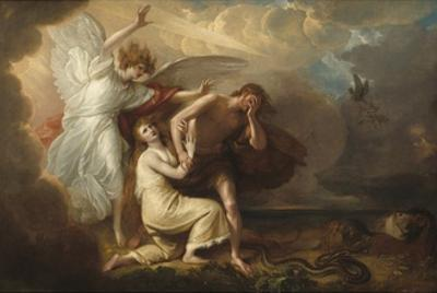The Expulsion of Adam and Eve from Paradise, 1791 by Benjamin West