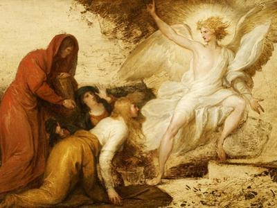 The Women at the Sepulchre; or the Angel at the Tomb of Christ by Benjamin West