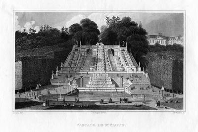 Cascade De St Cloud, Paris, 1830