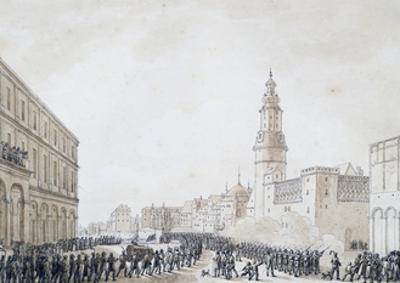 Funeral of French Officer in Weimar, October 1806