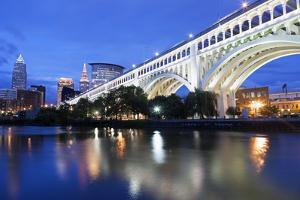 Cleveland Skyline by benkrut