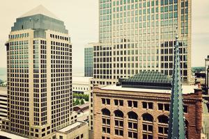 Downtown Cleveland by benkrut