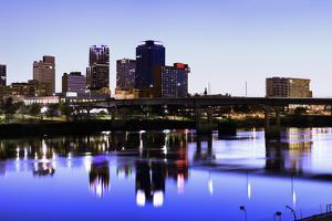 Evening in Little Rock by benkrut
