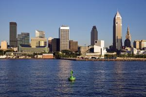 Late Afternoon in Downtown Cleveland by benkrut