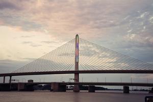 Veterans' Glass City Skyway Bridge by benkrut