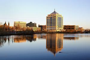 Wausau Seen during the Sunset by benkrut