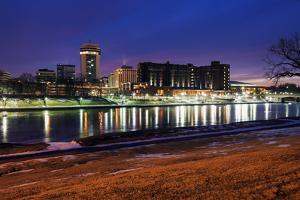 Wichita, Kansas - Downtown by benkrut