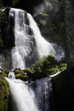 A View of Falls Creek Falls in Washington by Bennett Barthelemy