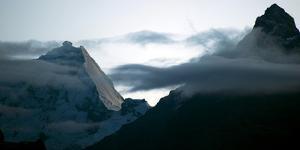 Dawn, Cordillera Blanca, Peruvian Andes by Bennett Barthelemy