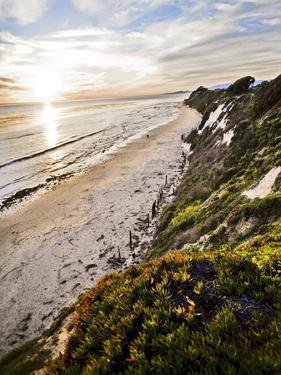Ellwood Beach Sunset, Goleta California. by Bennett Barthelemy