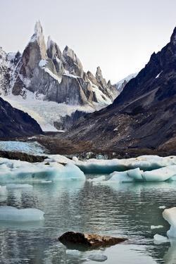Laguna Torre and Cerro Torre, Patagonia Argentina by Bennett Barthelemy
