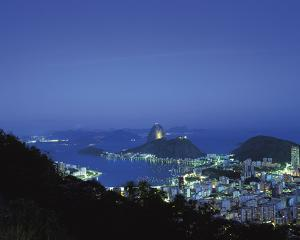 Rio at Night by Bent Rej