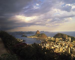 Sunlight over Rio by Bent Rej