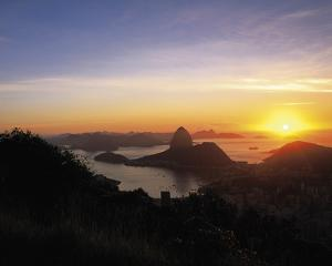 Sunset over Rio by Bent Rej