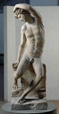Narcissus, 1548 by Benvenuto Cellini