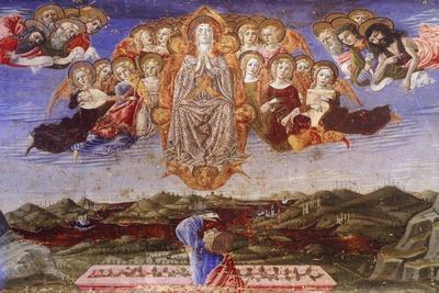 Predella of the Assumption of the Virgin