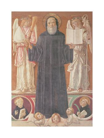 St. Benedict in Glory