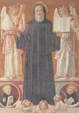 St. Benedict in Glory by Benvenuto Di Giovanni