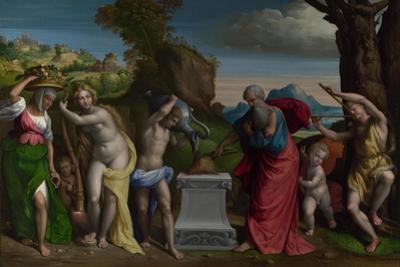 A Pagan Sacrifice, 1526 by Benvenuto Tisi Da Garofalo
