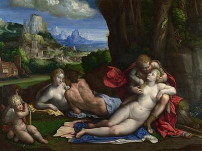An Allegory of Love, C. 1527-1530 by Benvenuto Tisi Da Garofalo