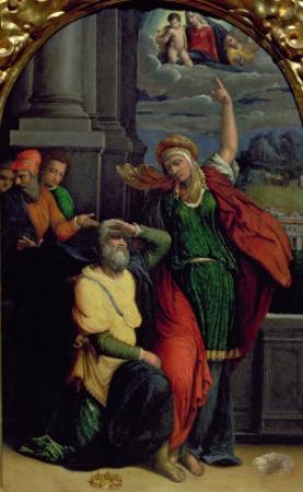 Augustus and the Tiburtine Sibyl by Benvenuto Tisi Da Garofalo