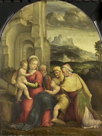Holy Family by Benvenuto Tisi Da Garofalo