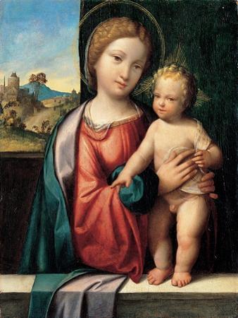 Madonna with the Child, 1512 by Benvenuto Tisi Da Garofalo