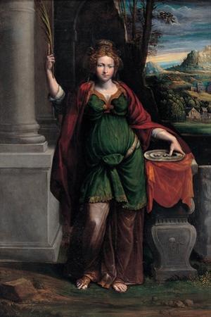 Saint Lucy, 1535-1540 by Benvenuto Tisi Da Garofalo