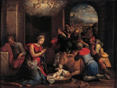 The Adoration of the Shepherds, 1536-1537 by Benvenuto Tisi Da Garofalo