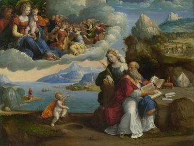 The Vision of Saint Augustine, C. 1520 by Benvenuto Tisi Da Garofalo