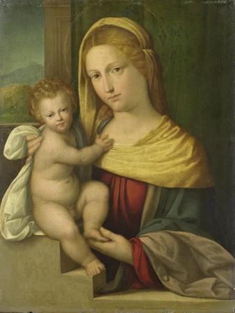Virgin and Child, Benvenuto Tisi Da Garofalo by Benvenuto Tisi Da Garofalo