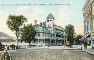 Berkeley Hotel, Saranac Lake, Adirondack Mountains, New York