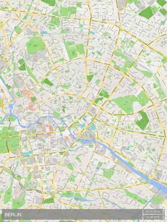 Berlin, Germany Map