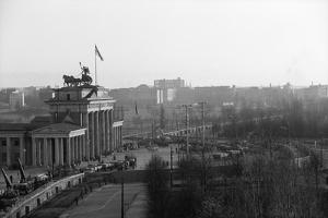 Berlin Wall @Brandenburg Gate Gen. View