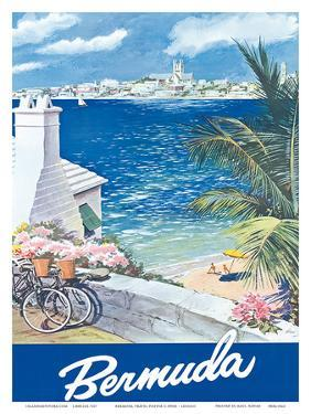 Bermuda Travel Poster c.1950s