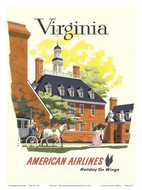 Virginia - American Airlines by Bern Hill