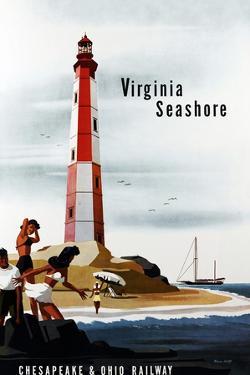 Virginia Seashore by Bern Hill
