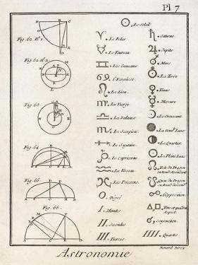 Astronomical Signs by Bernard