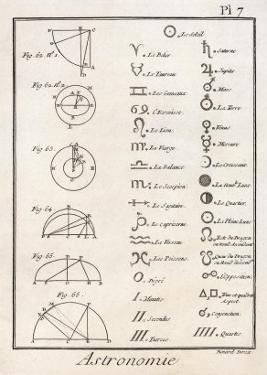 Astronomical Signs by Bernard