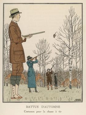 Hunting Dress 1912 by Bernard Boutet De Monvel
