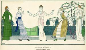 The Innocent Games 1914 by Bernard Boutet De Monvel